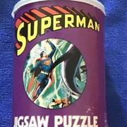 American Publishing Superman Jigsaw Puzzle In A Can