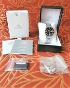Ca. 2013 Orient Diver's Watch Black Ray I Japanese Automatic 200m Day Date Runs