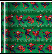 Spiderman Spider Man Gift Wrap Wrapping Paper Roll Christmas Holiday 60 Sq.feet