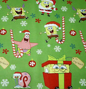 Sponge Bob Wrapping Paper Roll Gift Wrap Christmas Holiday 70 Sq. Ft. New Last 1