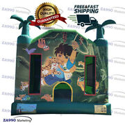 13x13ft Commercial Inflatable Go Diego Go Bounce House With Air Blower