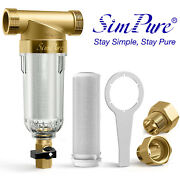 Water Pre-filter System/whole House Spin Down Sediment Water Filter-40 Micron