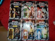 Star Wars Vintage Carded Action Figures Retro Lot Target Exclusive No Stickers