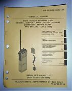 Radio Set An/prc-127 Reference Book