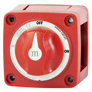 New M-series Single Circuit On Off Power Mini Battery Disconnect Switch