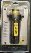 Amflo Filter 24-313 3/8 Npt Removes Particulates, Water Extend Air Tool Life
