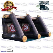16x10ft Commercial Inflatable Axe Lumberjack Throw Sport Game With Air Blower