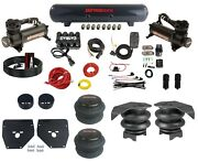 Complete Air Ride Suspension Kit Evolve Manifold Bags 480 Blk For 73-87 Gm C10