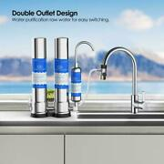 Simpure 2 Stage Countertop Ceramic Drinking Water Filter Filtration System C1/c2