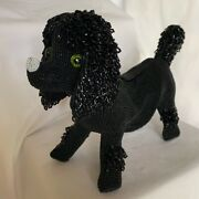 Vintage Walborg Poodle Beaded Clutch Rare 1940s