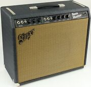 1997 Stinger Bass Master 40w 1x12 Tube Combo Guitar Amp Usa Amplifier Isi7430