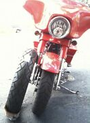 """1 Of A Kind Unique Biggest 21"""" Front Tire Motorcycle 140/70-21 120 Cruiser Rake"""