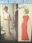 Vogue Couturier Design Pattern 1452 Galitzine Of Italy Size 16
