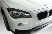 For Bmw X1 E84 2009-2015 Eyebrows Headlight Cover Abs Plastic