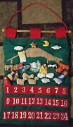 Vintage New Advent Calendar With Mouse Christmas Countdown 30 Rare