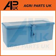 Small Blue Lockable Tool Box For Ford 4100 4600 4610 5100 5600 5610 6410 Tractor