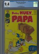 Baby Huey And Papa 2 Harvey 1962 Cgc 9.4 Off-white Pages