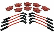 8 Ignition Coils And 10mm Plug Wires For Vette C5 C6 C7 Z06 Camaro Ss Ctsv 6.2 7.0
