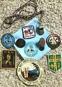 Boy Scout Items From Queens, Nyc From 1967-71 Ten Mile River, Patches, And More