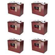 6 Pack 72v - 12 Volt Golf Cart Batteries - Trojan Battery T-1275 Gem Nev Lsv