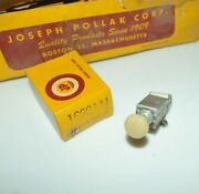 1x Nos Joseph Pollak Corp. Heater Switch New Old Auto Part Classic 1930and039s 1940and039s