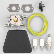 Carburetor Fuel Filter Sets For Mcculloch Mac 333,335,338,435,436,438 Chainsaw