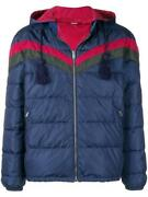 New Menand039s Current Web Colors Chevron Quilt Down Padded Jacket 50/medium