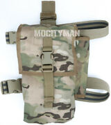Military Aws Multicam Drop Leg Pouch For Breacher Charge Grapnel 51937 Usa Made