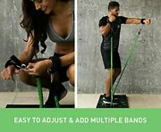 Bodyboss 2.0 Full Portable Home Gym Workout Resistance Bands Green Full Gym