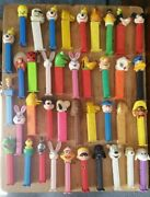 70+ Pez Candy Dispensers Peanuts Star Wars Disney Holiday + Assorted Lot
