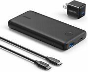 Anker Portable Charger Battery Pack 18w 20000mah Pd Power Bank And Usb C Charger