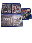 Lot Of 5 Ps4 Games Nba 2k18, Lego Super Heroes, Assassins Creed Syndicate