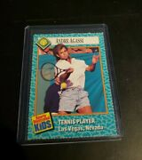 Rare 6/89 Si For Kids Andre Agassi Rookie Card, Usa Wimbledon/french Tennis 47