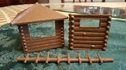 Marx Western Play Set Fort Apache Rin-tin-tin Fort Parts/scaling Ladder
