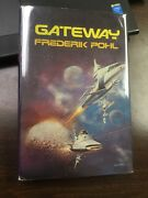Gateway Signed By Frederik Pohl 1977 1st Hc Printing Bc Very Rare Boris Vallejo