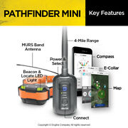 Dogtra Pathfinder Mini Built In Gps E-collar Dog Track And Train System- Fast Ship