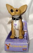 Taco Bell Nodder Chihuahua Dog All Plastic Nos 7 Tall