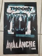 Theory Of A Deadman Avalanche Tour Signed Autograph 11x17 Cardstock Poster