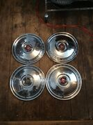 1955 56 Ford Hubcaps. 15