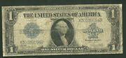 1923 1 Dollar Silver Certificate Fr238 Currency Note Paper Money