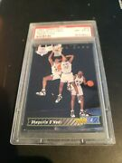 1992 Shaquille Oand039neal Rookie Trade Card Nba Draft Psa 8