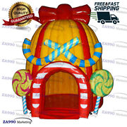 10x10ft Inflatable Snack / Food / Products Booth Carnival Tent With Air Blower