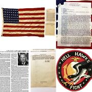 Wwii Major John R Murphy 365th Fighter Group Hell Hawks 2 Kia Confidential Relic