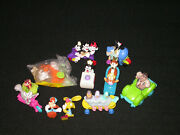 Vtg. 1992 Mcdonalds Happy Meal Toys Animaniacs And Tiny Toon Adventures Set Of 10
