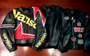 Vanson Leathers Heavyweight Motorcycle Jacket   Rare And Hard To Find - 3 Styles