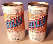 Lot Of 2 Vintage Circa 1977 Billy Beer Cans. West End Brewing Company Utica Ny