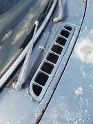 1969 70 71 72 Mg Mgb Gt Cowl Chrome Vent Panel Cover