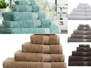 Egyptian Cotton 700gsm Luxe Collection Super Soft Towels Bath Sheets Extra Thick