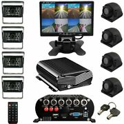 Dash Cam Live Streaming Mnvr 3-8 Cam 1080p Style With 4g Wifi Gps