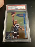 1993 Upper Deck Se G13 Shaquille Oneal Behind The Glass Psa 6